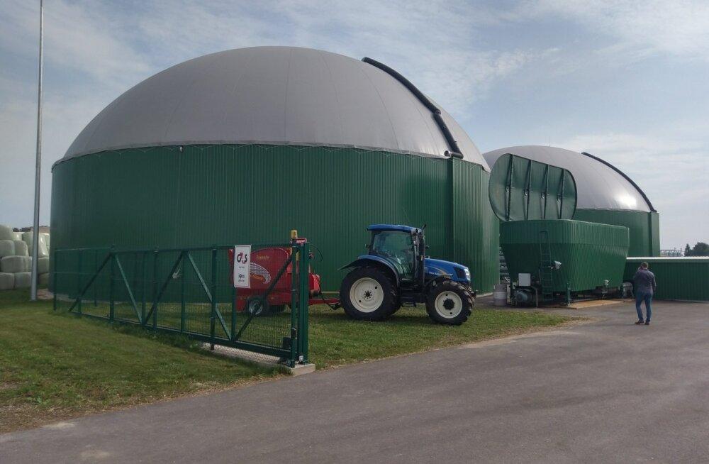 Koksvere biometaanijaamast tulevat gaasi tarbitakse Eestis mootorikütusena.