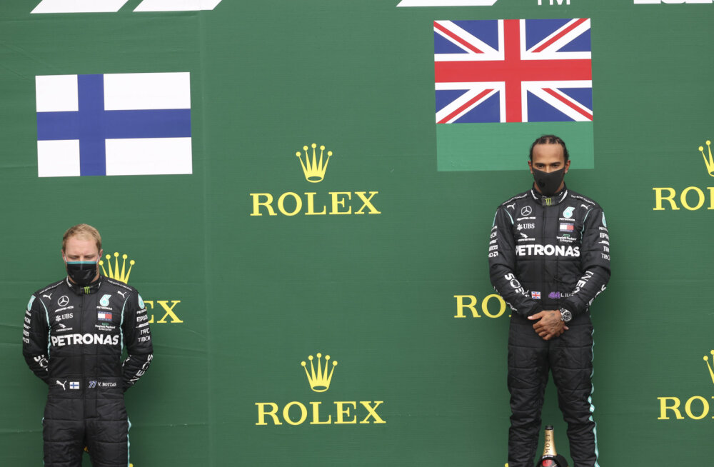 Bottas Hamiltonile allajäämisest: see ajab mind närvi