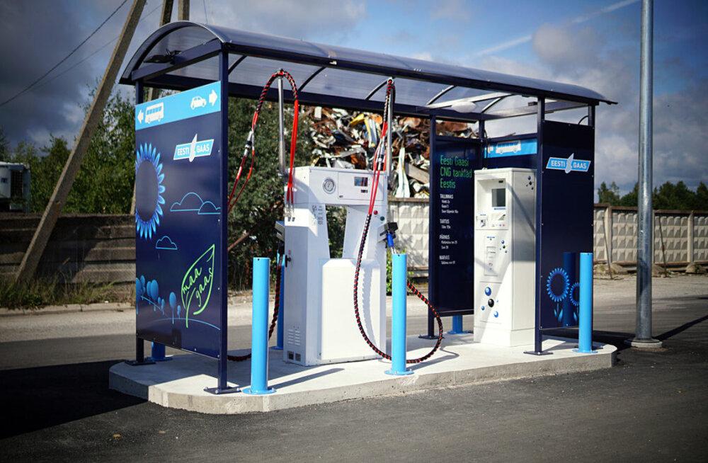 Eesti Gaas: в июне резко выросли объемы заправки автомобилей эстонским зеленым газом