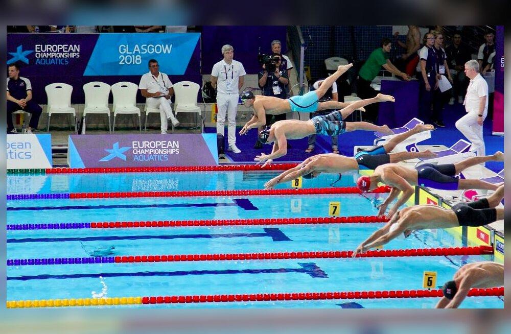 Ujumise EM-i kolmandal päeval eestlased poolfinaali ei jõudnud