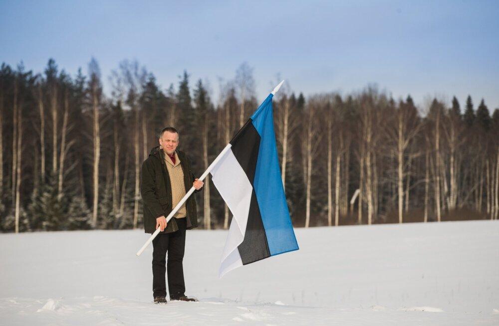 Kaupo Kutsar võitleb selle eest, et Eesti lipu märk oleks peal vaid kodumaisest toorainest toidukaubal.