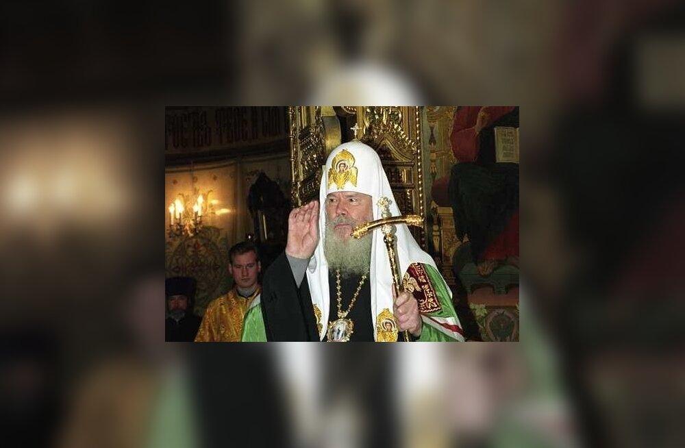 Pühtitsa kloostri Moskva esinduse iguumenja nõuab litsentsita jäänud Vene pangast patriarh Aleksiuse 300 miljonit