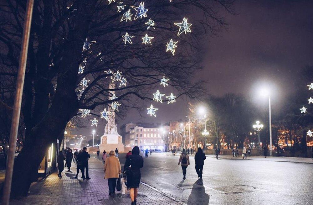 Nutikad naabrid! Lätlased korraldavad täna jõuluturu, kus kauplejateks on erinevate riikide suursaatkonnad