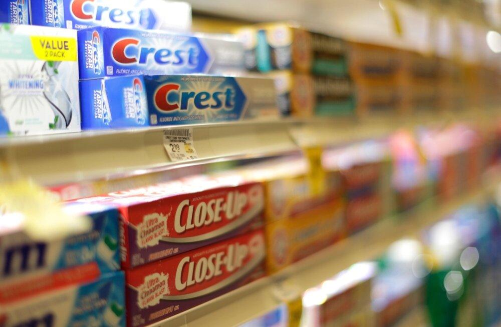 Procter & Gamble hampapasta Crest Marylandi poes.