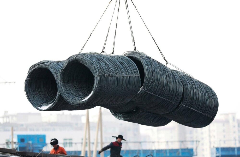 Allikate sõnul kehtestab USA EL-ile terase- ja alumiiniumitollid ja ees ootab kaubandussõda