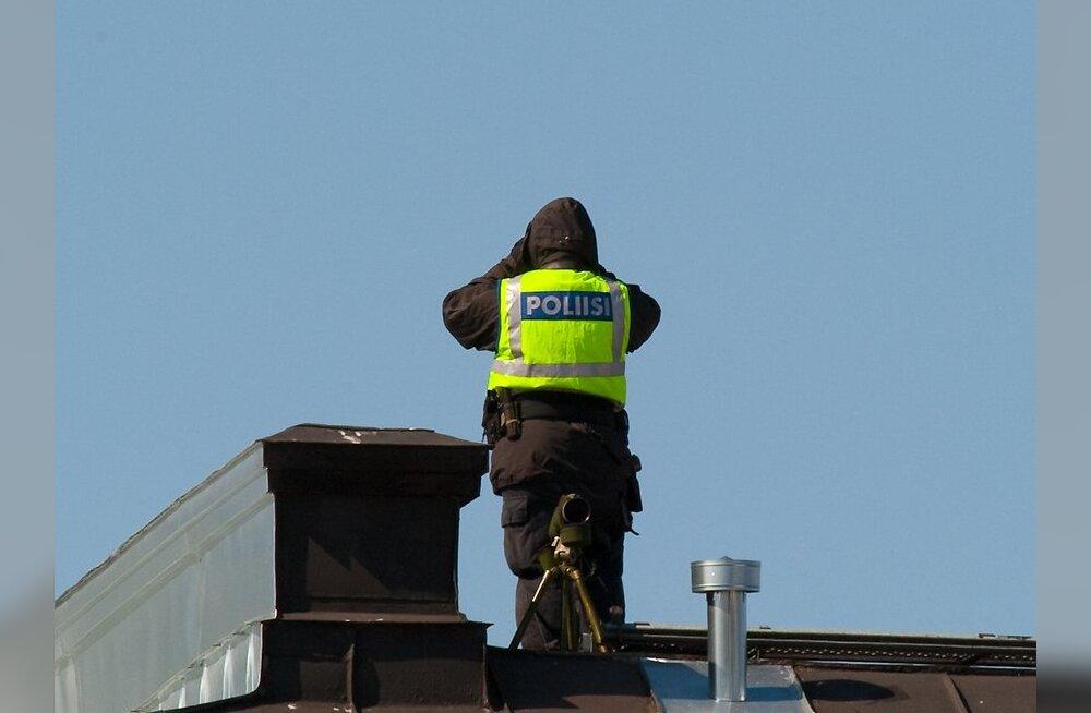 Välismaalane röövis Helsingis pangast miljoni