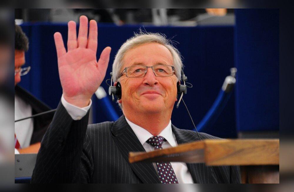 Jean-Claude Juncker valiti uue Euroopa Komisjoni presidendiks