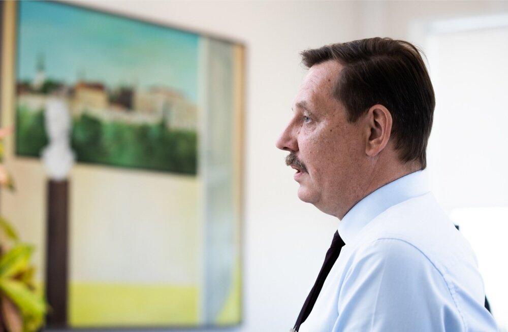 Taavi Aas paneb palju lootust suurtele projektidele, mida Eestis lähiaastatel alustada plaanitakse.