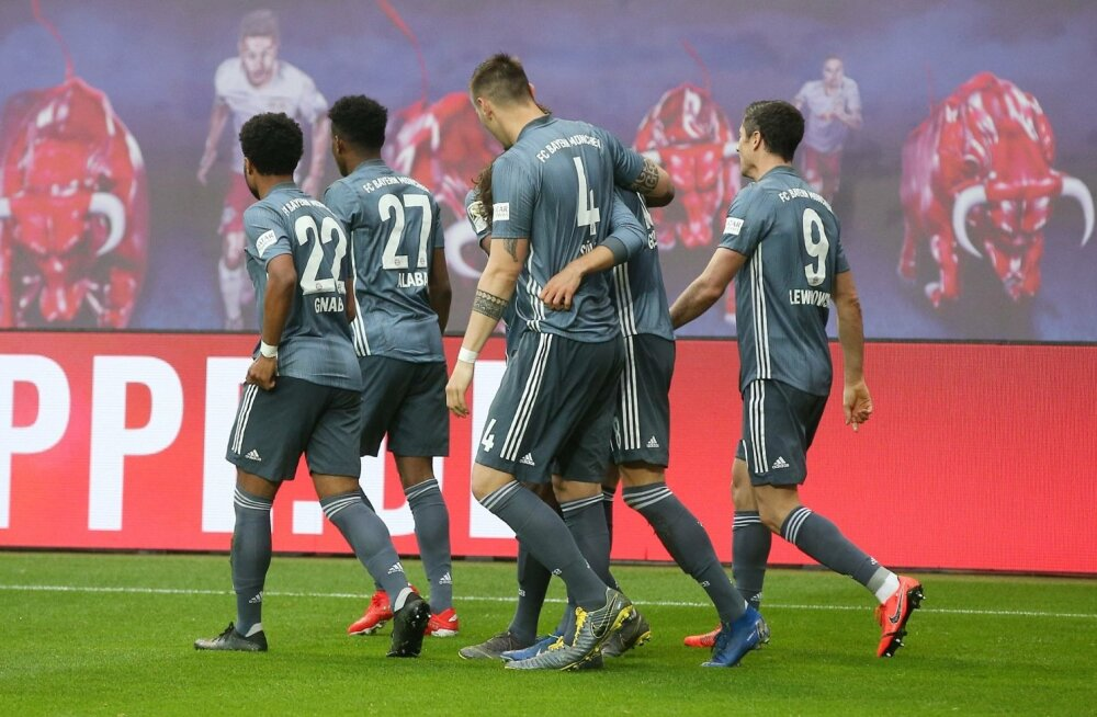 Saksamaa jalgpalli valitseja Müncheni Bayern.