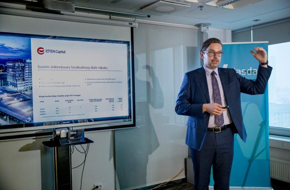 EFTEN Real Estate Fund III Tallinna börsil