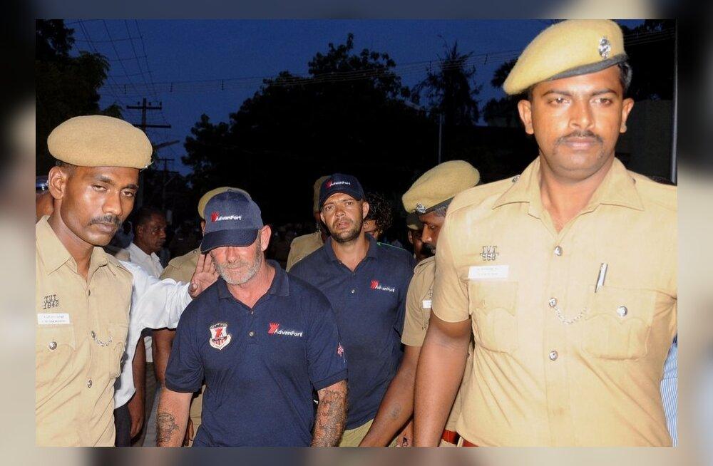 Oktoobris vahistatud laevakaitsjad