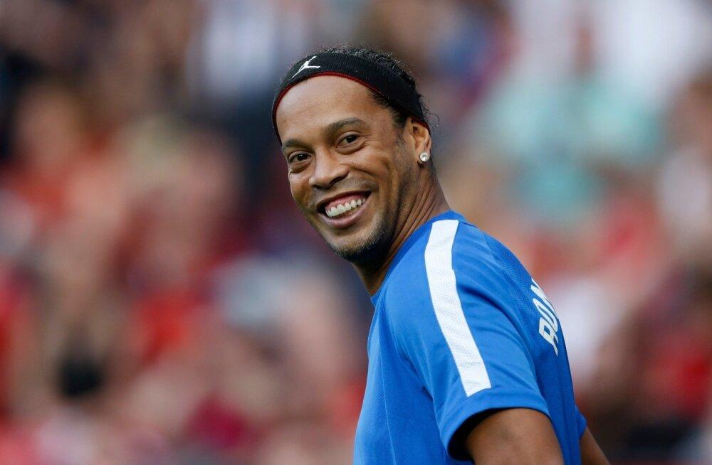 Ronaldinho heategevusmatšil