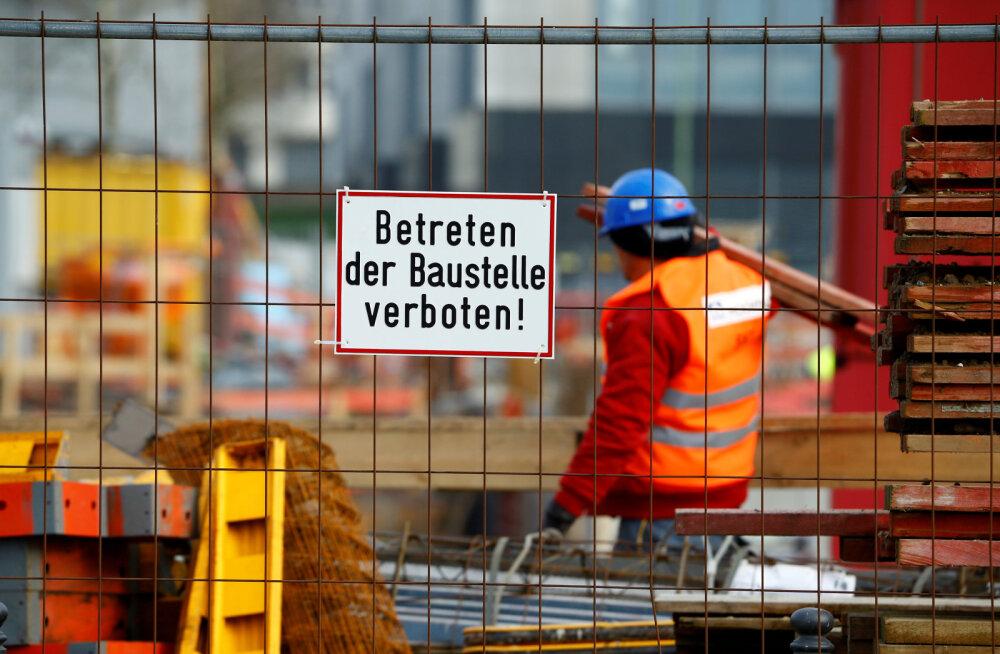 Saksa ettevõtted olid mais eufoorias