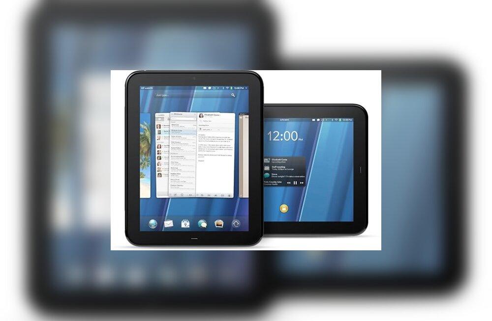 Mitte veel üks Android: HP tutvustas oma esimest tahvelarvutit!