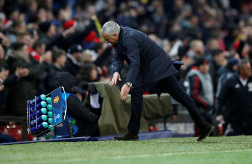 """Mourinhho saatis """"oma armastajatele"""" sõnumi: pääsesin edasi 14. korda"""