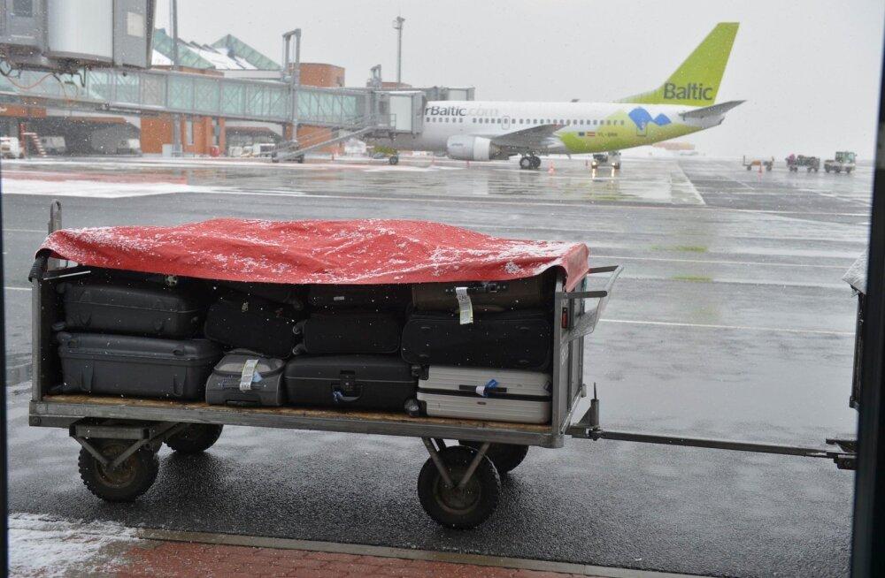 airBaltic предлагает новую услугу — тяжелая ручная кладь