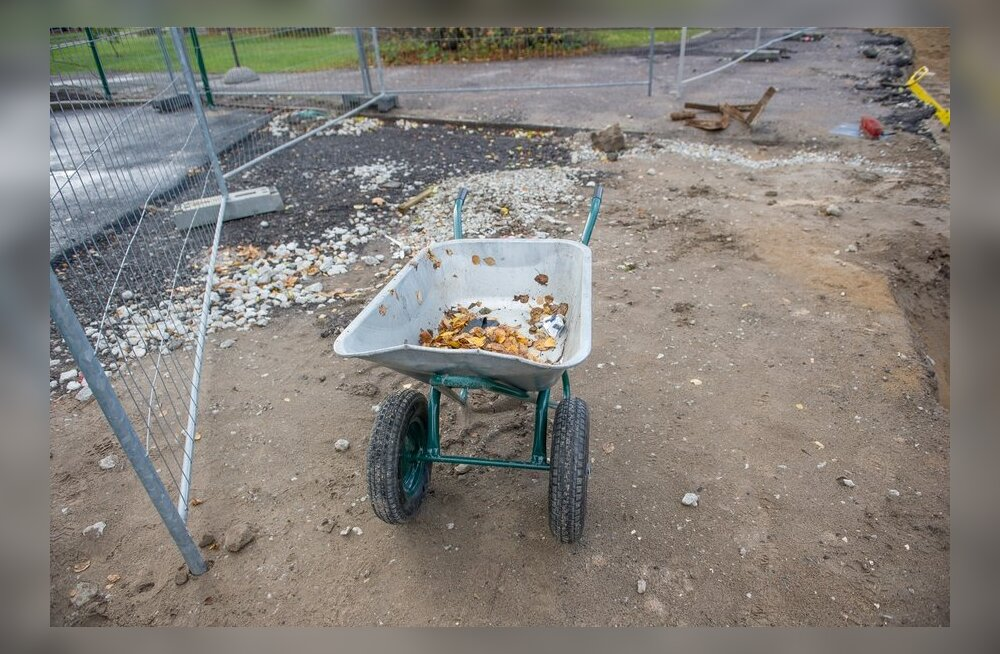 Эстония хочет разобраться с возможностями вторичного использования строительных отходов