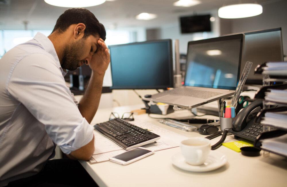 Spetsialist vastab: kas arvutiga töötavad inimesed peavad igas tunnis saama lisapuhkuse?