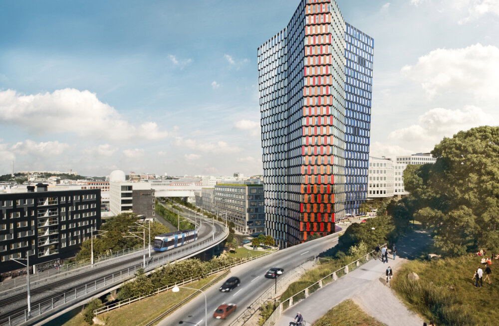 Skanska ehitab endale Stockholmi miljardise peakorteri
