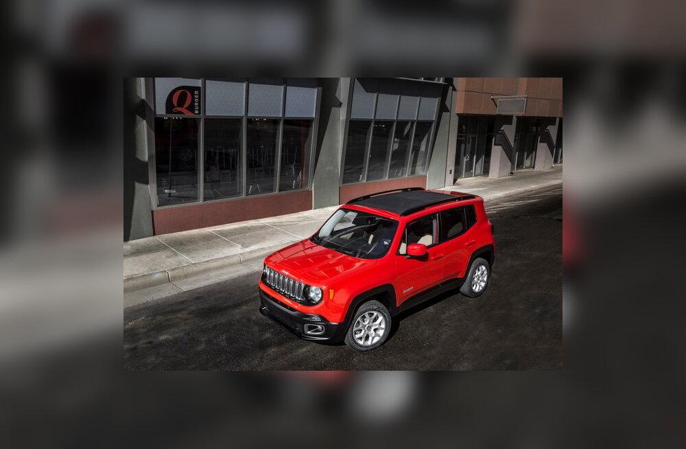 Jeep näitas Genfis krossoverit Renegade