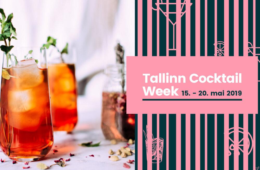 Tallinn Cocktail Week kutsub avastama kokteilikunsti saladusi