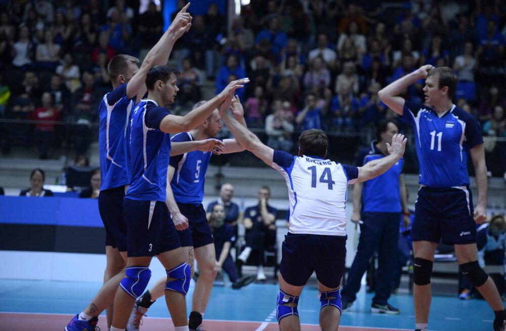 Eesti võrkpallimeeskonna mäng Poolaga jäetakse koroona tõttu ära