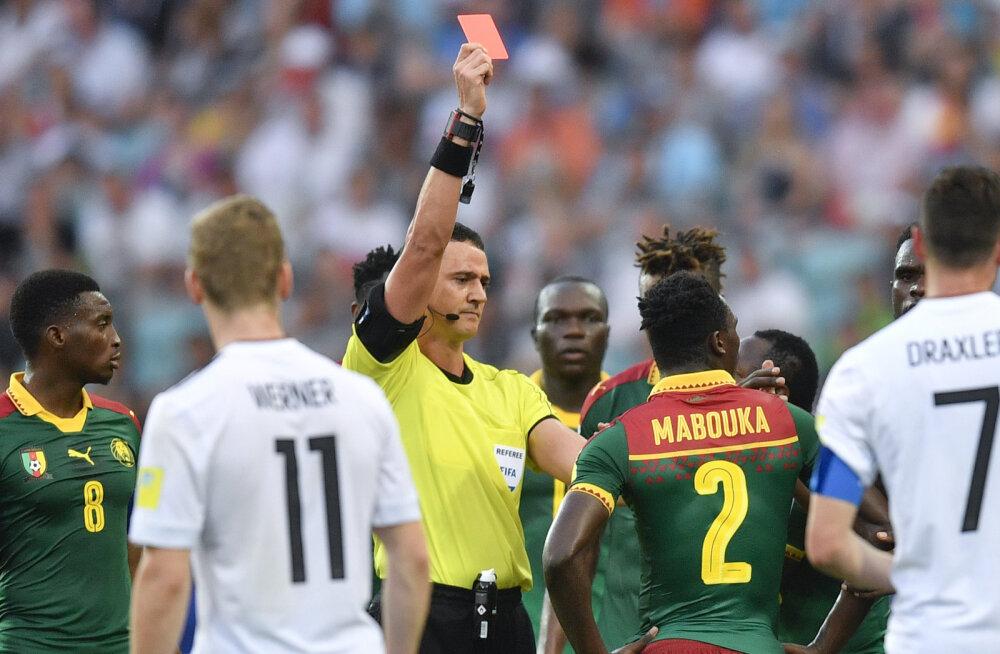 Ernest Mabouka saab punase kaardi