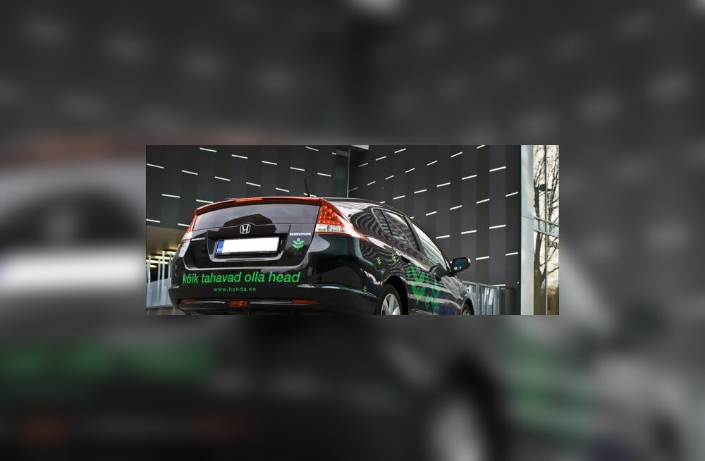 Honda Insight -  sissevaade lähitulevikku? Foto Elina Päsok