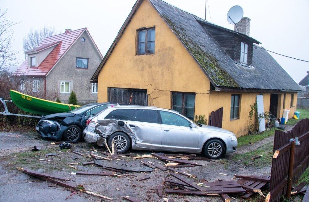 Liikulsõnnetus Kuressaares Pihtla teel