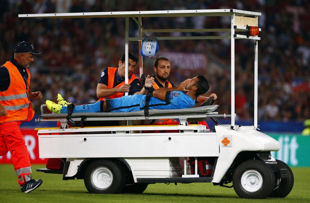 Valus: napi minuti väljakul viibida saanud Barcelona mängumehe jaoks võib hooaeg läbi olla