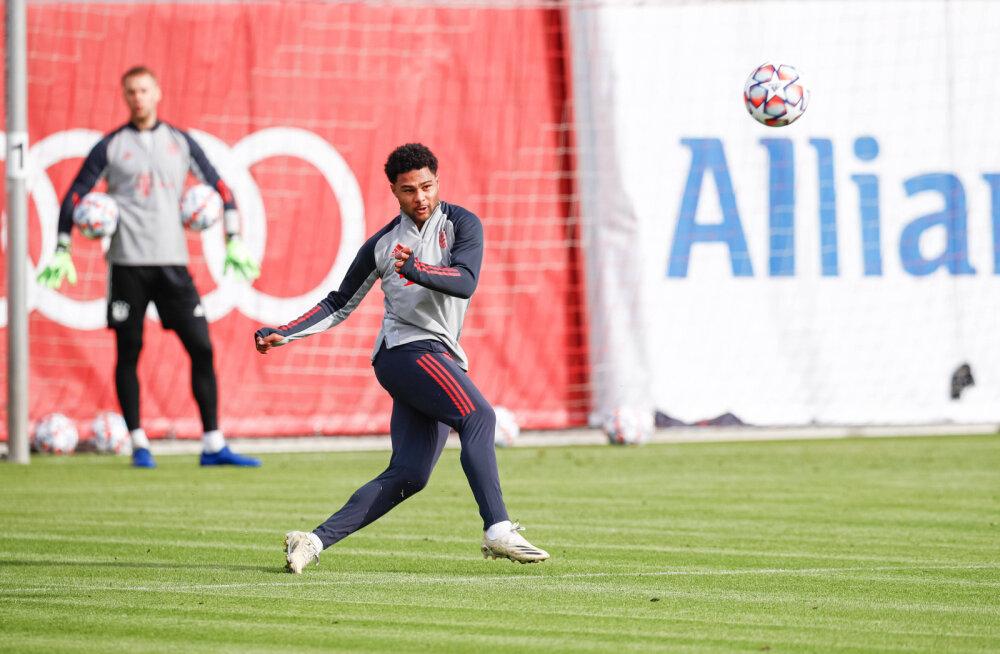Bayerni noor tähtmängija nakatus tähtsa mängu eel koroonasse