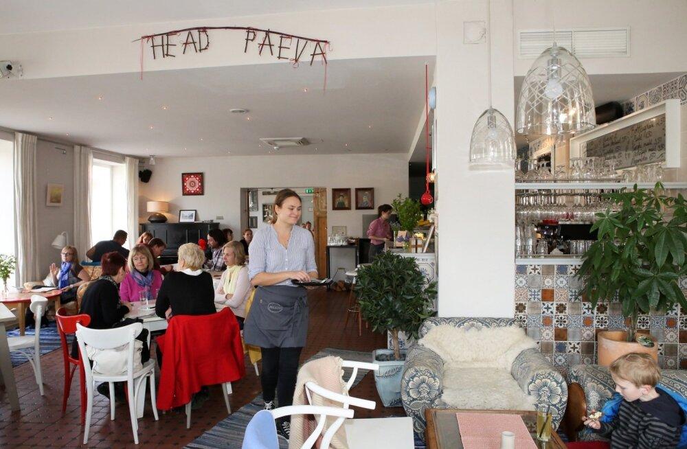 kohvik Fellin Viljandis