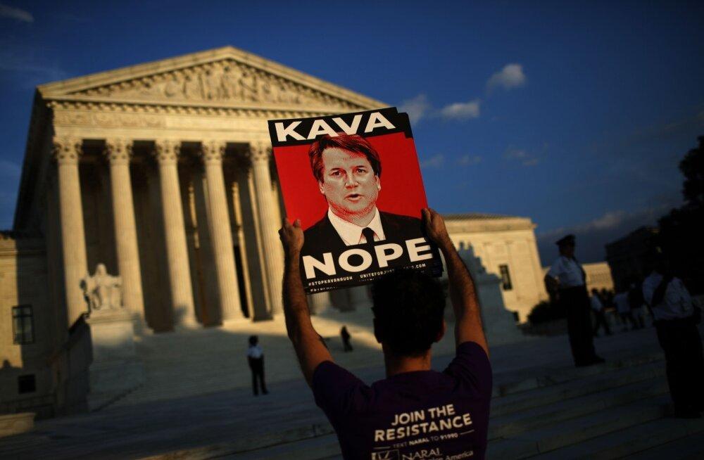 USA senati õiguskomitee sai FBI raporti ülemkohtukandidaat Kavanaugh' kohta