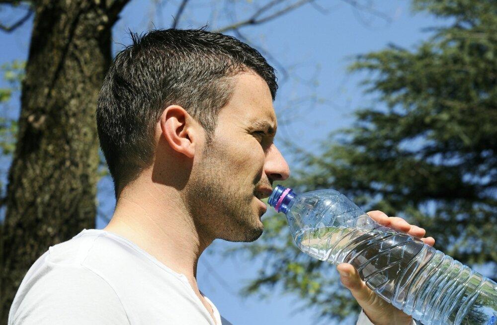 Hea teada: kui palju vett peaks inimene päeva jooksul ikkagi jooma?