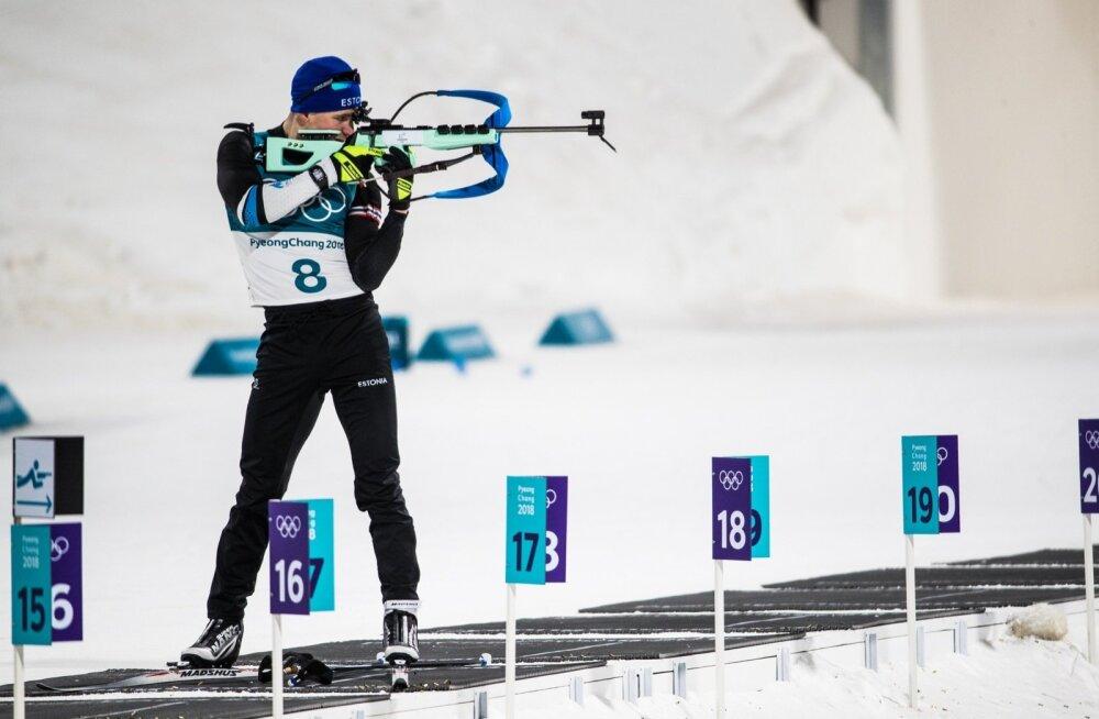 Kalev Ermits oli Eesti meestest olümpial parim.