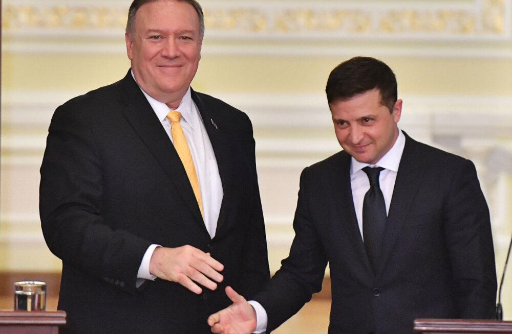 Зеленский предложил Госдепу США назначить представителя по Донбассу и Крыму