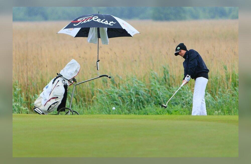 Seenioride EMi teine võistluspäev, golf
