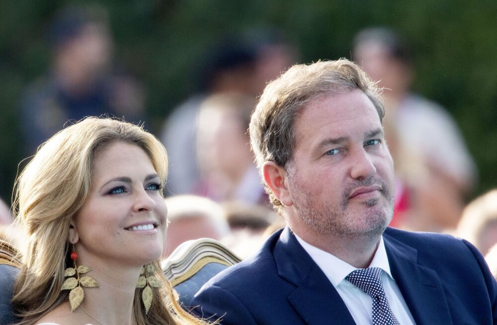 FOTO   Rootsi printsess Madeleine'i poeg Nicolas sai viieseks