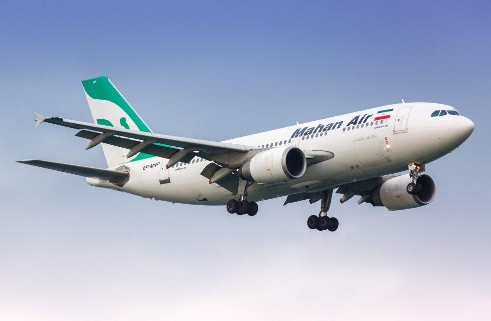 Iraani meedia süüdistab USA hävitajat ohtlikus lähenemises Iraani reisilennukile