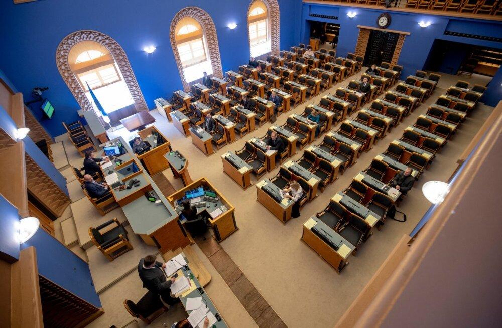 Riigikogu infotund, Riigikogu juhatuse valimised