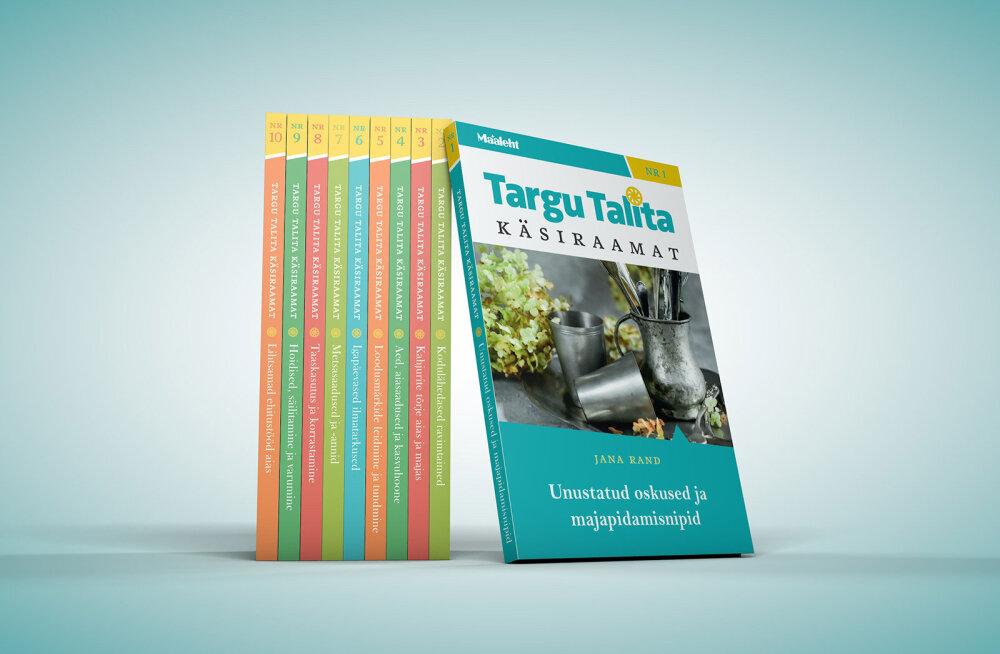 Targu Talita käsiraamatute ettetellimine kulgeb ootuspäraselt ja hoogsalt