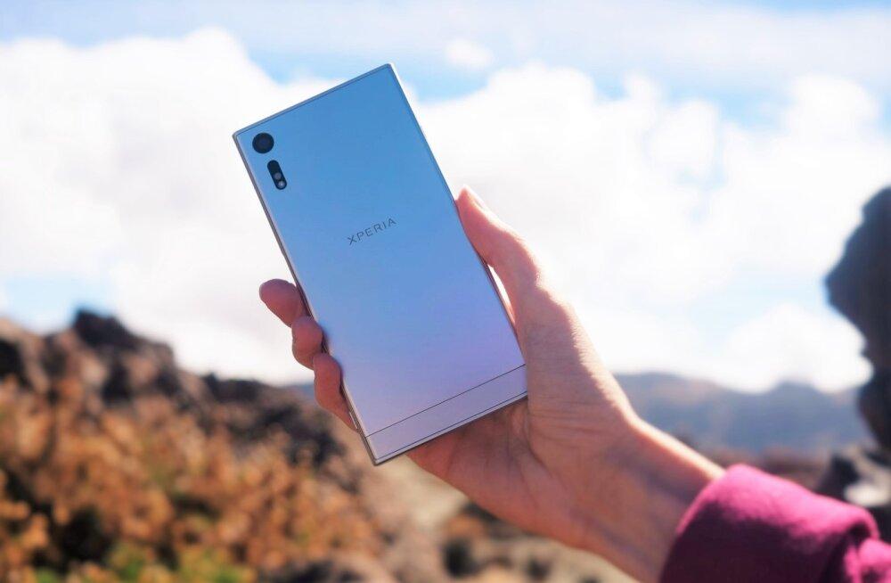 Arvustus: Sony Xperia XZ on nutitelefon, millele võib kindel olla