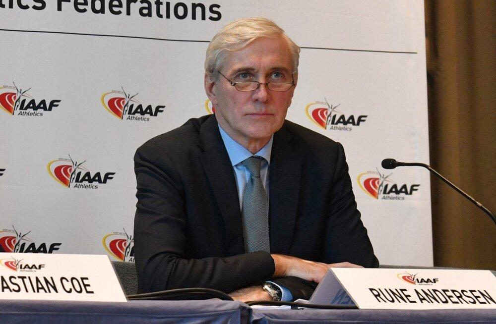 IAAF-is venelaste patte uuriv Rune Andersen.