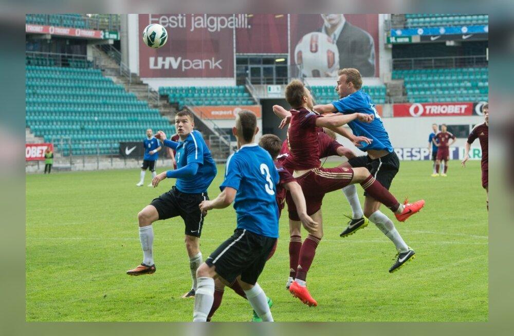 Eesti U21 jalgpallikoondis mänguhoos