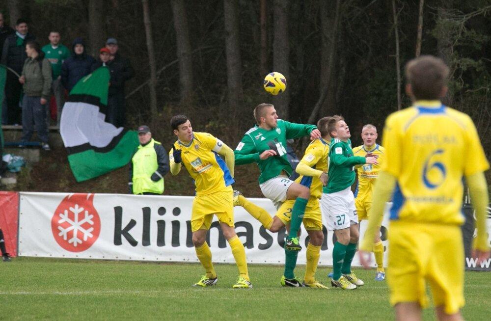 FC Kuressaare vs Levadia