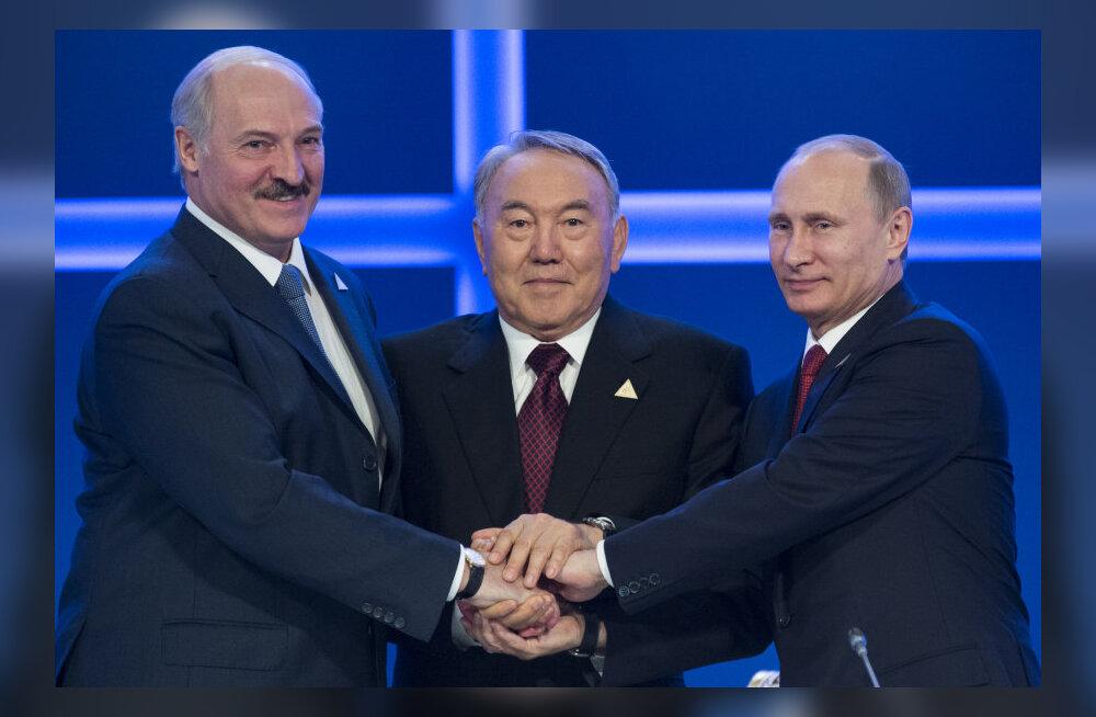 Cобытие года свершилось: Россия, Казахстан и Белоруссия подписали договор о Евразийском союзе