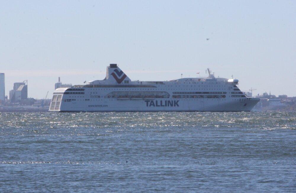 Tallinki kasvatas reisijate arvu, kaubavedu kukkus