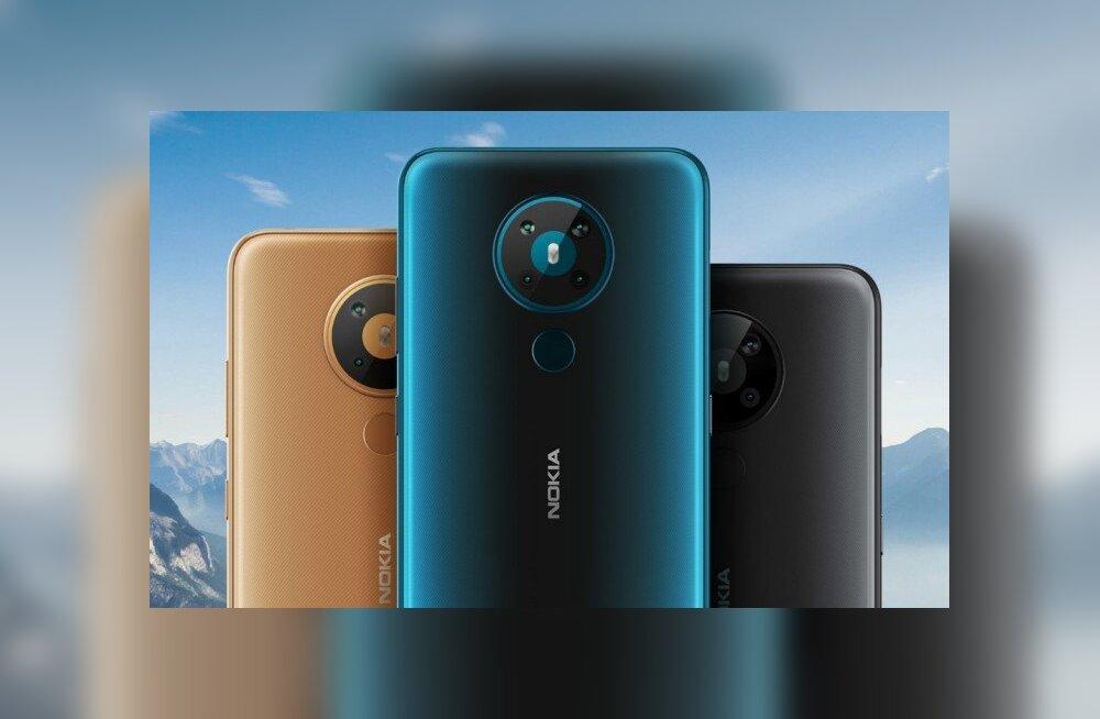 TEST | Nokia nutitelefon 5.3 – suur, odav, ilus ja nelja kaameraga mitte-lipulaev