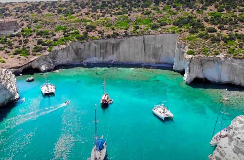 VIDEO | 10 kõige kaunimat paika Kreekas, kuhu saab varsti juba reisida
