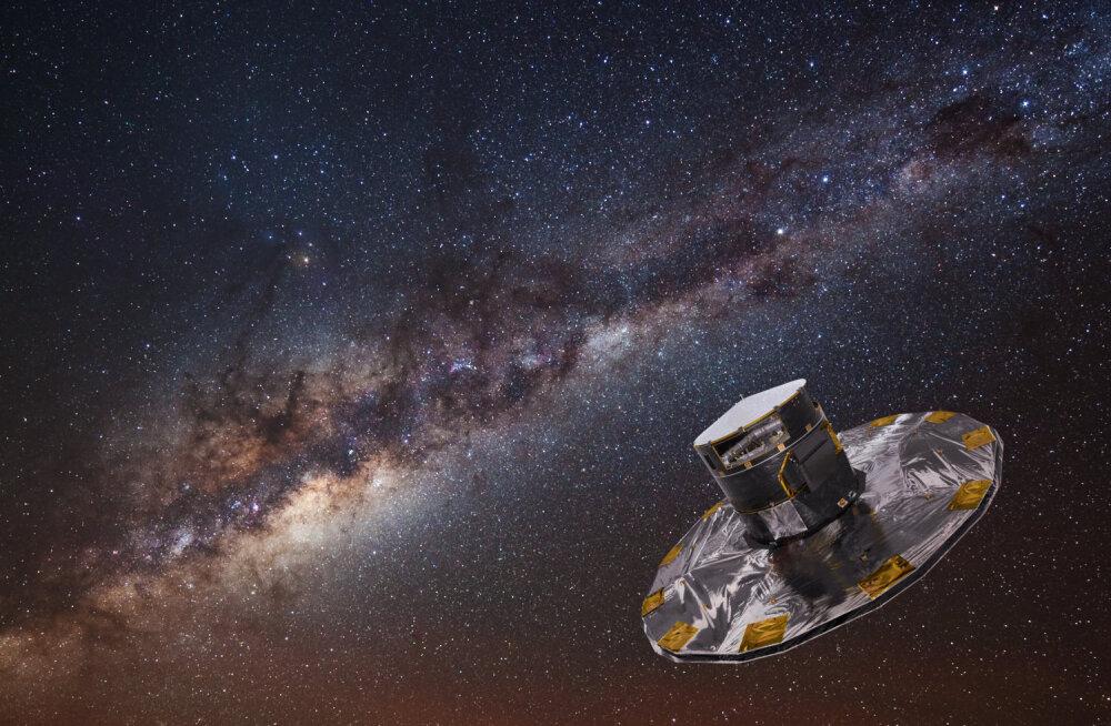 Gaia kosmoseteleskoop püstitab Linnutee tähti mõõtes rekordeid